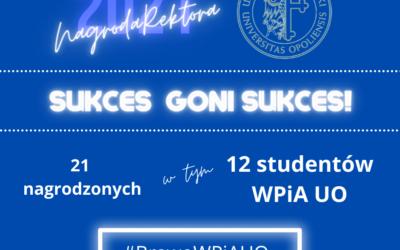 SUKCES GONI SUKCES! – Nagroda Rektora 2020/2021